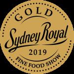 Gold Medal Sydney Royal Fine Food Show 2019