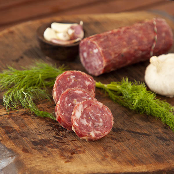 Traditional Garlic Salami