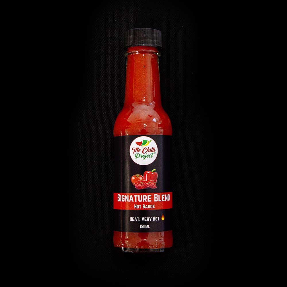 Signature Blend Hot Sauce (Very Hot)